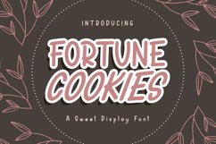 Fortune Cookies Product Image 1