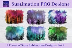 Sublimation PNG Designs - Forest of Stars Images - Set 2 Product Image 1