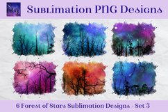 Sublimation PNG Designs - Forest of Stars Images - Set 3 Product Image 1