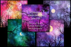Lunar Edition - Forest of Stars Backgrounds - 12 Images Product Image 2