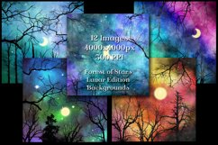 Lunar Edition - Forest of Stars Backgrounds - 12 Images Product Image 3