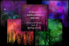 Forest of Stars Vol. 2 Backgrounds - 12 Image Textures Set Product Image 2