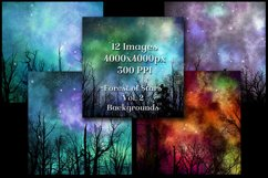 Forest of Stars Vol. 2 Backgrounds - 12 Image Textures Set Product Image 3