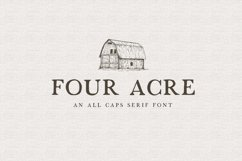 country house font bundle Product Image 6