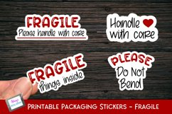 Printable Small Business Stickers Bundle - 16 Designs Product Image 5