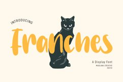 Franches Cute Handwritten Font Product Image 1