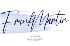 Frank Martin Signature Brush Font Product Image 1
