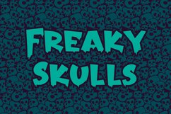 Freakout - Creepy Display Font Product Image 5