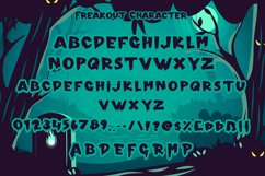 Freakout - Creepy Display Font Product Image 4