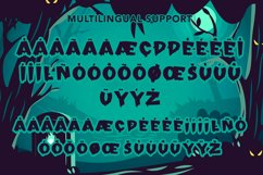 Freakout - Creepy Display Font Product Image 3