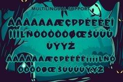 Web Font Freakout - Creepy Display Font Product Image 2