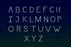 Modern Sans Serif font. FREEGATA - Thin Line Logo Font. Product Image 6