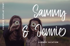 Frequent - Summer Display Font Product Image 5