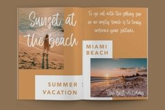 Web Font Frequent - Summer Display Font Product Image 5