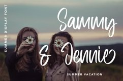 Web Font Frequent - Summer Display Font Product Image 3