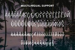 Web Font Frequent - Summer Display Font Product Image 6