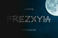 Web Font Frezxyia Font Product Image 3