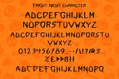 Fright Night - A Spooky Handletter Font Product Image 6