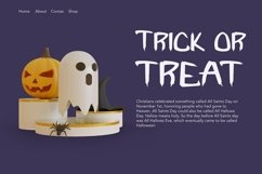 Web Font Fright Night - A Spooky Handletter Font Product Image 2