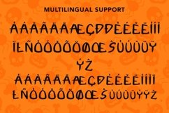 Web Font Fright Night - A Spooky Handletter Font Product Image 3