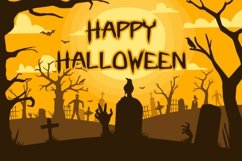 Web Font Fright Night - A Spooky Handletter Font Product Image 4