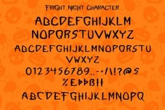 Web Font Fright Night - A Spooky Handletter Font Product Image 6