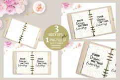 Baby Pink Planner Mockup, Journal Mockup, MockUp, Mock Up Product Image 1