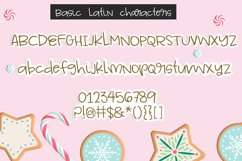 Frosted Gingerbread Handwritten Font Product Image 2