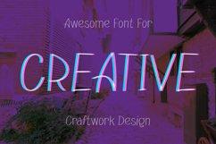 Fryhand sans serif font Product Image 2