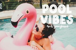 RETRO PALM Summer Inline Display Font Product Image 4