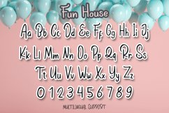 Fun House - Cute Display Font Product Image 4