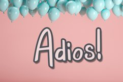 Fun House - Cute Display Font Product Image 6