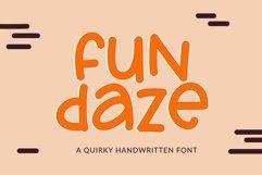 Web Font Fundaze - a fun handwritten font Product Image 1