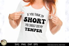 Funny SVG for short girls, funny quotes, cut files for t shirts