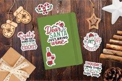 Funny and Sarcastic Chrismtmas sticker bundle Product Image 3