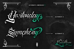 Brightone Vol. 2   Tattoo Lettering Font Product Image 5