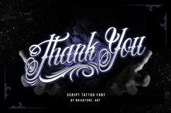 Relentless - Tattoo Font Product Image 4