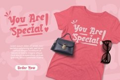 Web Font Galdine - Valentines Font Product Image 2