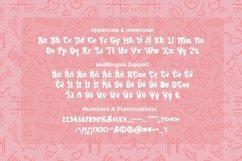Web Font Galdine - Valentines Font Product Image 3