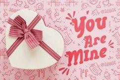 Web Font Galdine - Valentines Font Product Image 4