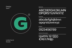Galpike Sans - Variable Font Product Image 2