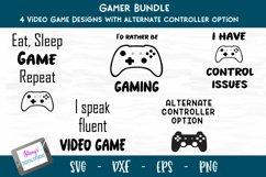 Gamer SVG Bundle - Video game SVG Bundle - 4 designs Product Image 1