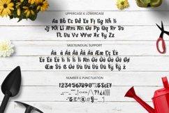 Web Font Gardenful Font Product Image 5