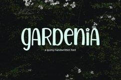 Web Font Gardenia - a quirky handwritten font Product Image 1
