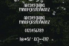 Web Font Gardenia - a quirky handwritten font Product Image 4