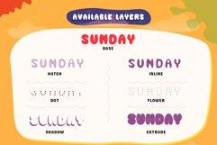 GEMOY - Fun Layered Font Product Image 2