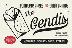 Gendis - Font Pack Product Image 1