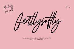 Gentlysoftly Signature Script Font Product Image 1