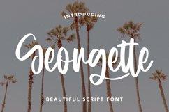 Georgette - Beautiful Script Font Product Image 1