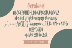 Web Font Geraldine - Handlettering Font Product Image 6